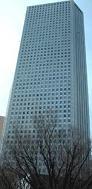 デジタルチェック本社のある西新宿の高層ビル