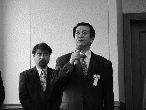 一水会代表 木村三浩先生