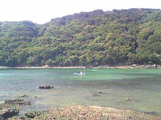 下田の鍋田浜