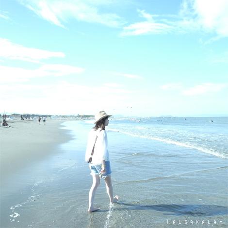 2010年、初海。