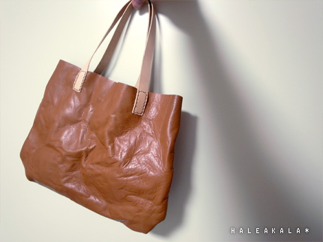 お試作バッグ。