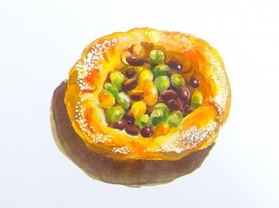 「豆 水彩」の画像検索結果