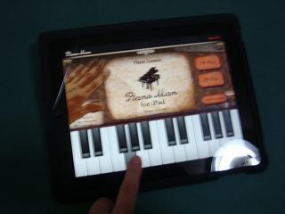 iPad ピアノマン