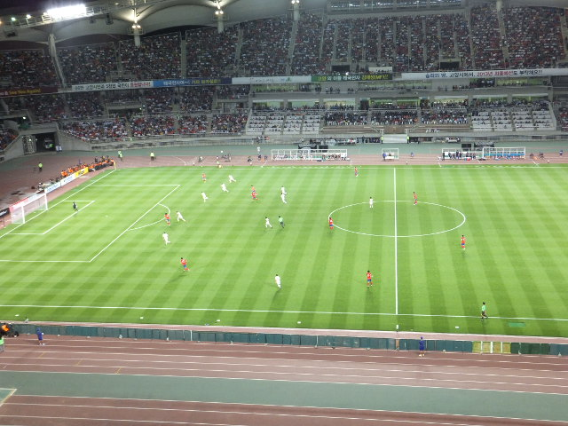 韓国 vs レバノン 10