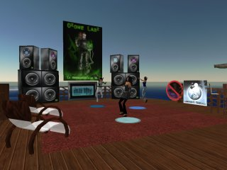 SECOND LIFE CAMP:Club de la plage