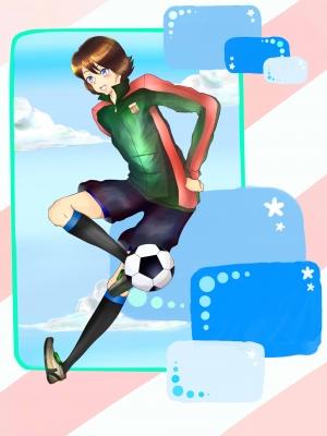 サッカーしやろうよ☆