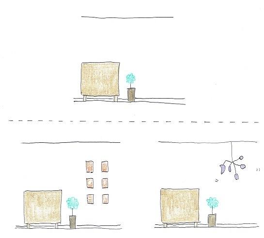 マンションの壁