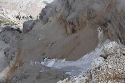 トファーナ・ディ・メッツォ 8月の雪