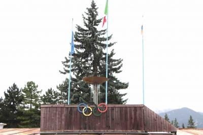 オリンピックの名残 コルティナ・ダンペッツオ