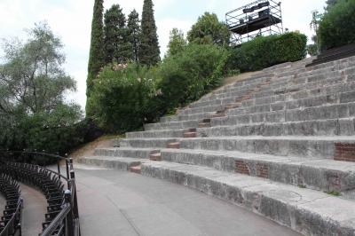 ヴェローナ テアトロ・ロマーノ 古代ローマの劇場