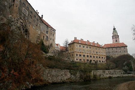 チェコ・チェスキークルムロフ(世界遺産)城