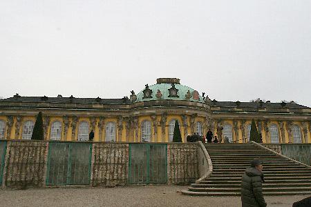 ドイツ フリードリッヒ2世の夏の離宮・世界遺産サンスーシ宮殿
