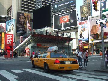 2009年初夏のニューヨーク/タイムズスクウェア