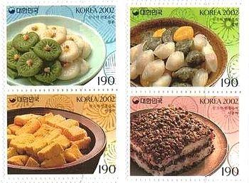 世界のスイーツ(お菓子・ケーキ、パン)や喫茶の切手