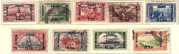 メソポタミアの切手