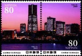 横浜港夜景(横浜ランドマークタワー)