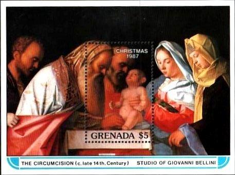 ベッリーニ『聖母子、東方3博士の礼拝』(グレナダ)