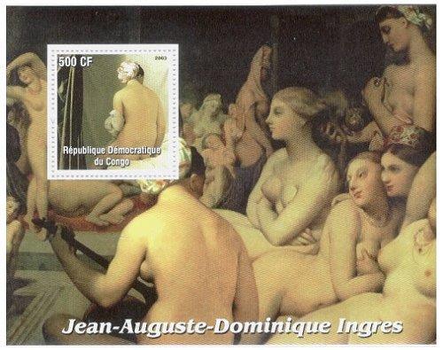 ジャン・オーギュスト・ドミニク・アングル画
