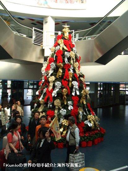 香港のクリスマスツリー