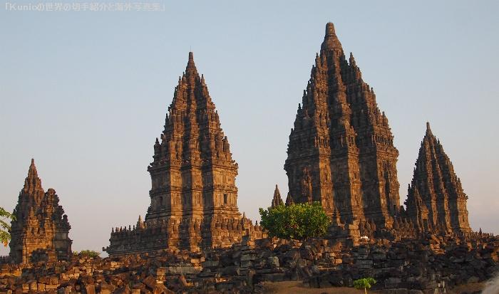 世界遺産・プランバナン寺院遺跡
