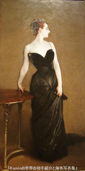<br>Madame × (Madame Pierre Gautreau)