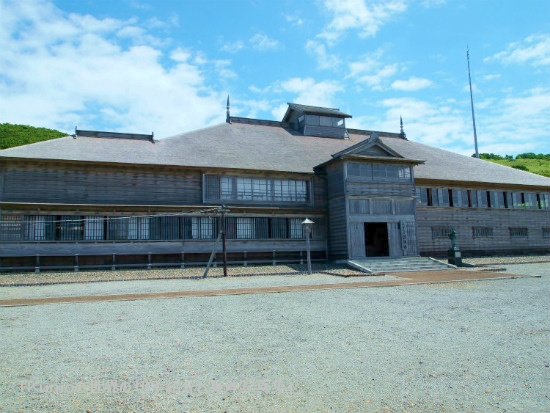 旧花田家番屋は、日本最北端の国指定重要文化財