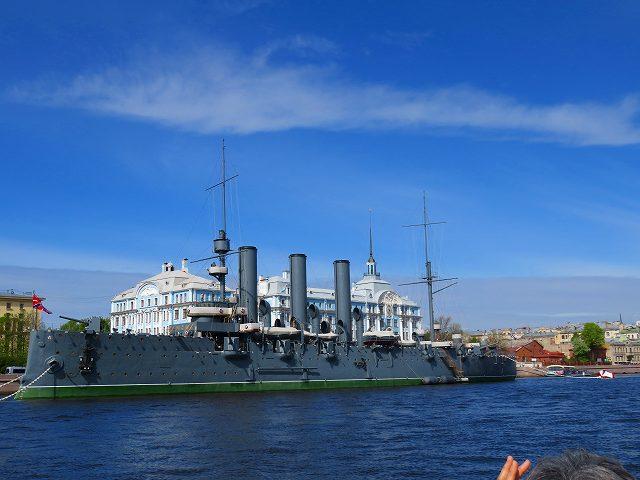 防護巡洋艦・アヴローラと海軍軍事学校「Nakhimov」