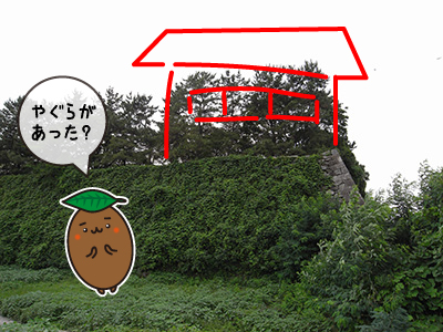 名古屋城 北東