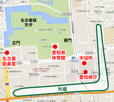 名古屋城マップ2