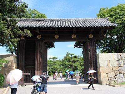 姫路城-大手門