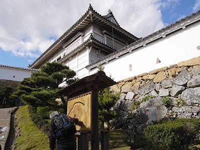姫路城-菱の門
