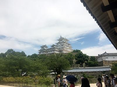 姫路城-三国堀より