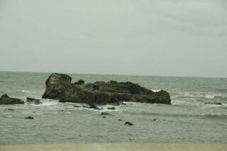 5月の銚子の海