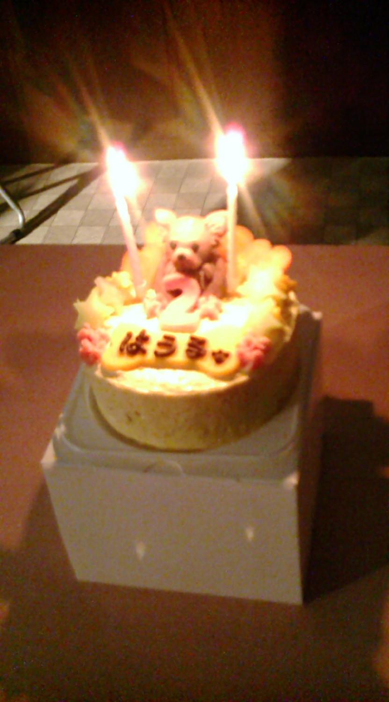 2才のケーキ