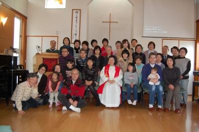 2012年元旦礼拝
