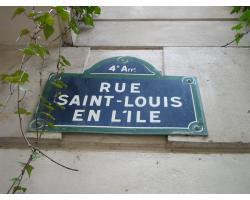 パリの散歩シテ島サンルイ島2
