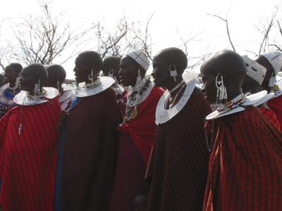 マサイ族のお祭り