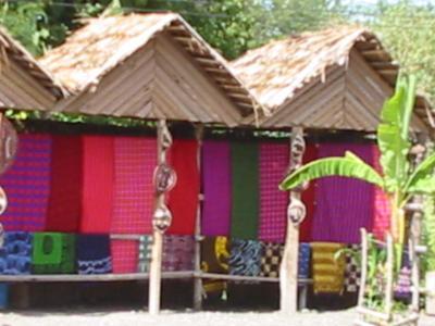 マサイ族の布屋