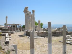 トルコ、ペルガモンの遺跡