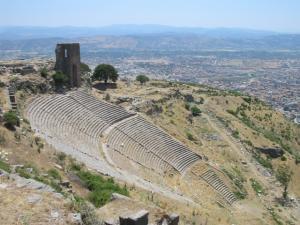 トルコ、ペルガモンの遺跡の大劇場