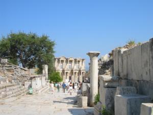 トルコ、エフェソスの遺跡