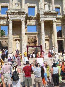 トルコ、エフェソスの遺跡2