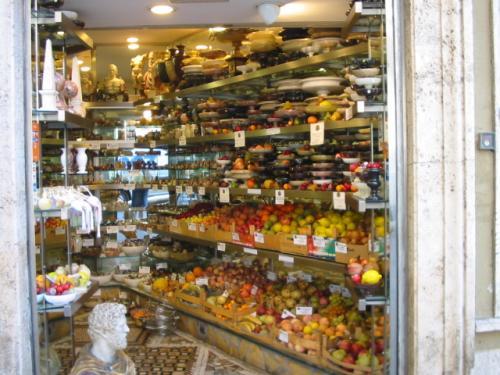 ローマの果物屋さん