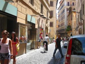 ローマの下町