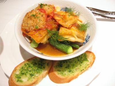 新鮮・季節魚のブイヤベーススタイル