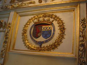 モダーヴ城の紋章