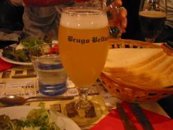 ベルギーブルージュの地ビール