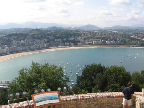 サンセバスチャンの市内観光