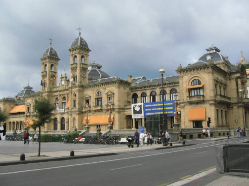 サンセバスチャンの旧市街