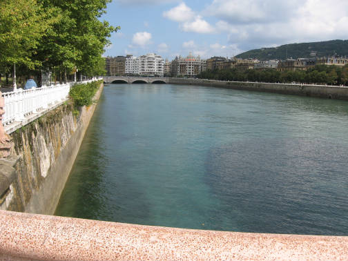 サンセバスチャンのクリスティ—ナ橋